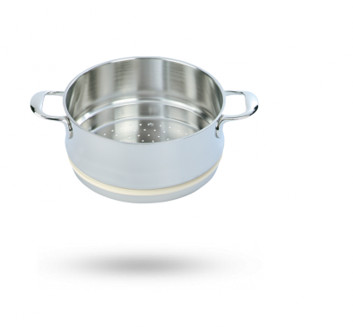 Interior de cocción al vapor