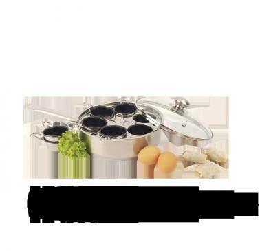 Poêle gourmet 6 récipients