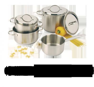 Batterie de cuisine, 4 pcs.