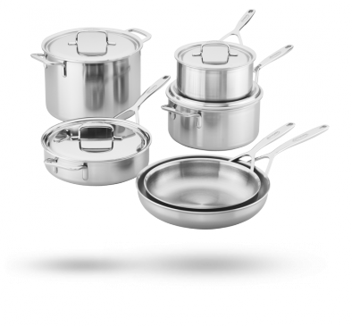 10-pc Cookware Set