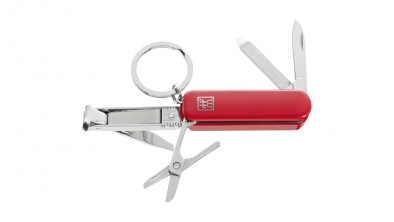 Multi tool, inoxydable, rouge