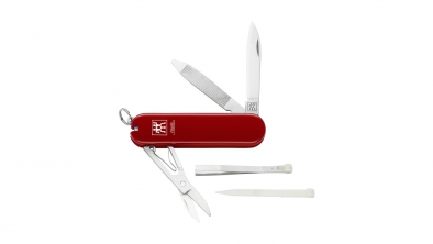 Pocket knife, red, 3 pcs.