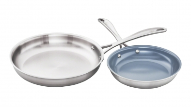 2-pc Mixed Fry Pan Set