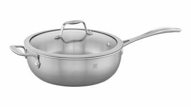 4.6-qt Stainless Steel Perfect Pan