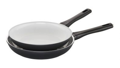 "2-pc 10"" & 11"" Fry Pan Set"