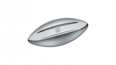 Stainless steel soap, bi-colour, matt-polished