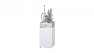Porcelain and Stainless Steel Manicure Station, 5 Pcs.