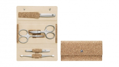 Cork Pocket Manicure Set With Snap Fastener 5 Pcs.