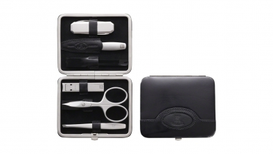 Neat's Leather Frame Case with Pocket Knife, Black, 6 Pcs.