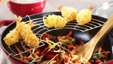 Rist til wok, 30 cm