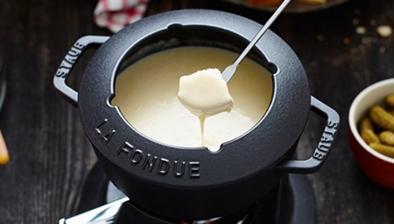 Juego de fondue cereza, 20 cm
