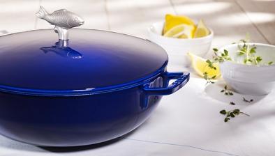 Cocotte voor vis/bouillabaisse