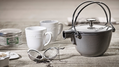 Round Tea Kettle