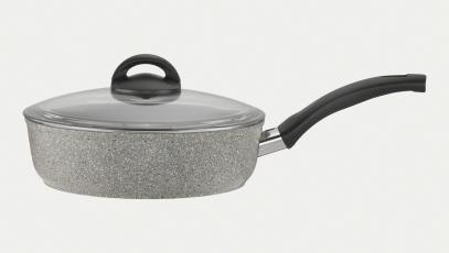 2.9-qt Aluminum  Nonstick Saute Pan + Lid