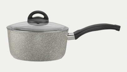 2.8-qt Aluminum  Nonstick Saucepan + Lid
