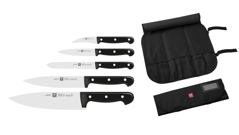 Mallette De 5 Couteaux De Cuisine Professionnels Zwilling Twin Chef
