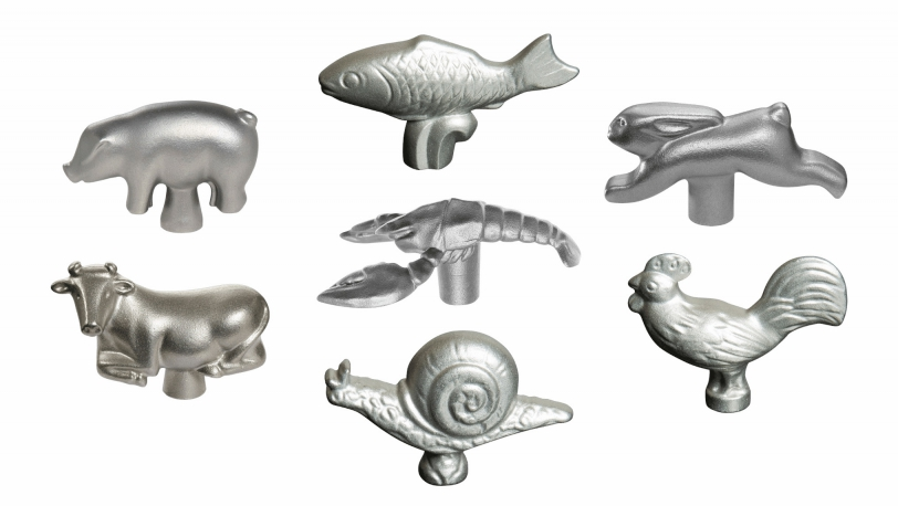 Set of 7 Animal Lid Knobs | Lid accessories | STAUB 0