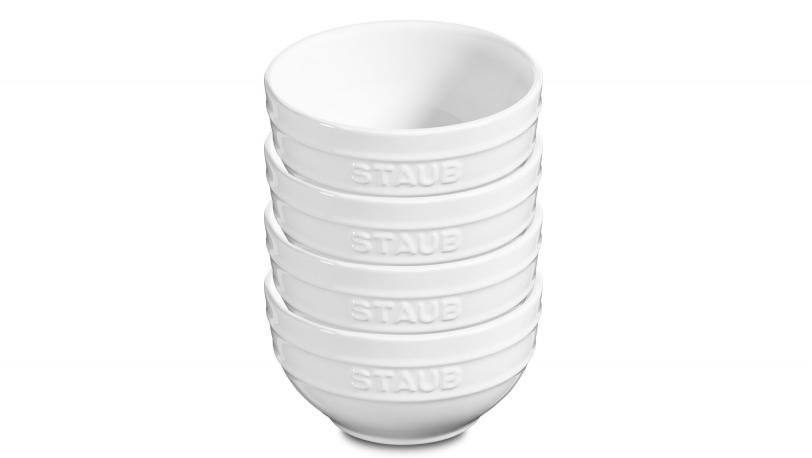 Keramik Schüssel-Set, weiß, 4-tlg.   Servieren   STAUB 0
