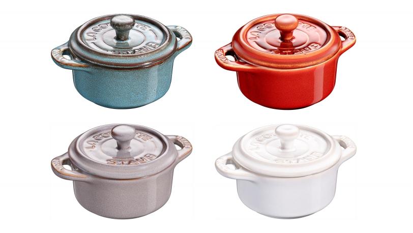 Mini-Cocotte-Set, Antikfarben | XS-Minis | STAUB 0