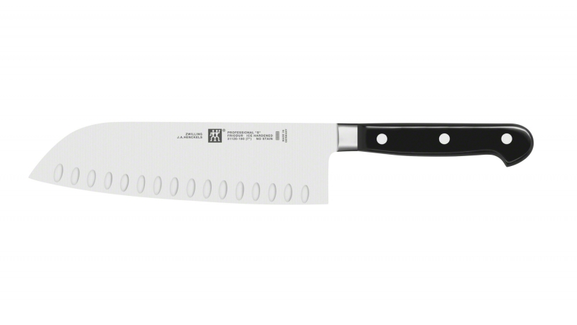 "7"" Hollow Edge Santoku Knife"