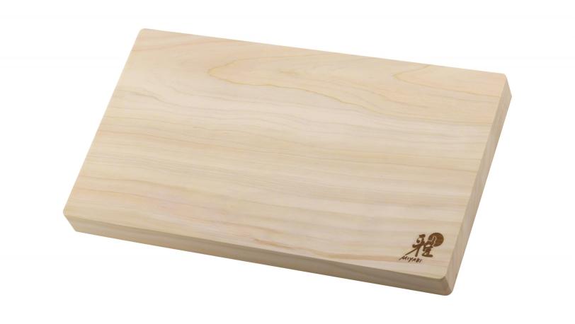 ヒノキカッティングボード まな板 35.0 X 20.0 X 3.0 cm (34535-200-0) | まな板 | MIYABI 0