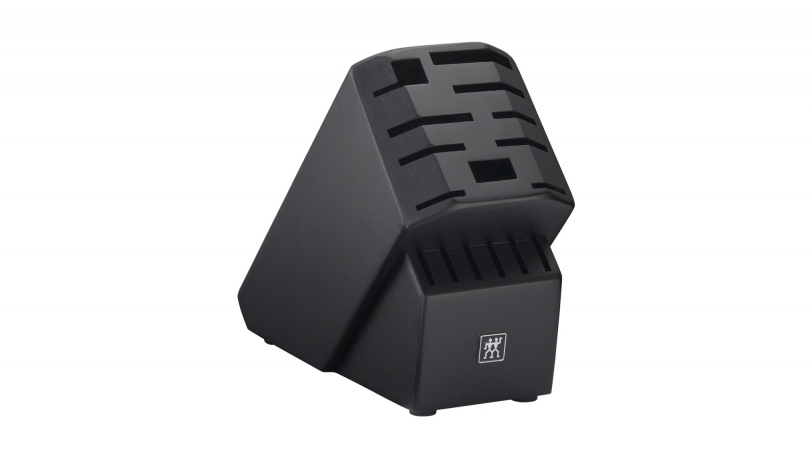 Pro Rubberwood Black 16-slot Knife Block