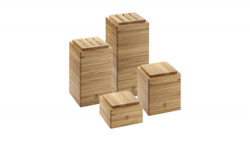 Aufbewahrungsboxen 4 tlg. Bambus | Aufbewahrung | ZWILLING 0