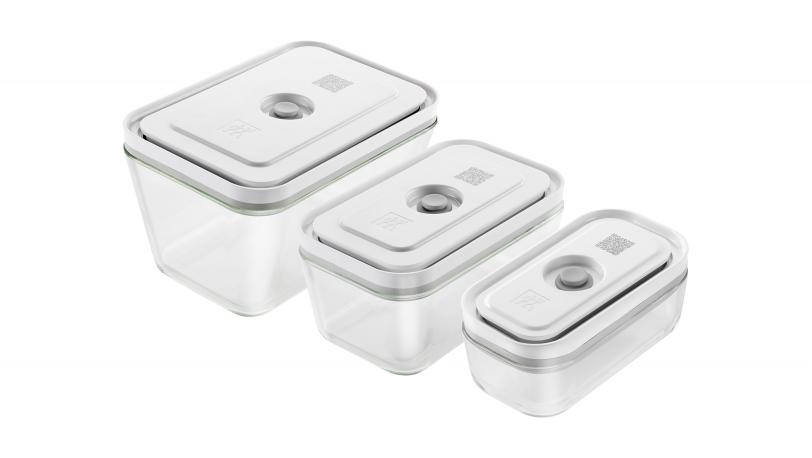 フレッシュ&セーブ 真空ガラスコンテナ 3サイズセット(36803-003-0)   フレッシュ&セーブ   ツヴィリング 0