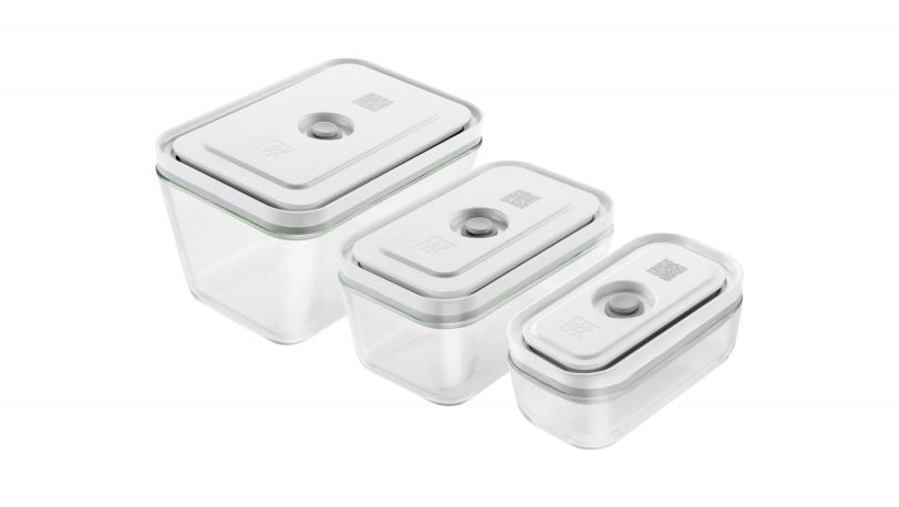 Set de 3 recipientes de cristal para vacío | ZWILLING Fresh & Save | ZWILLING 0