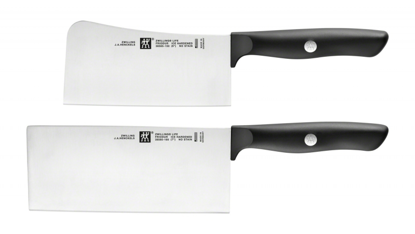 zwilling zwilling life messerset 2 tlg chin kochmesser hackmesser zwilling life 2 tlg. Black Bedroom Furniture Sets. Home Design Ideas