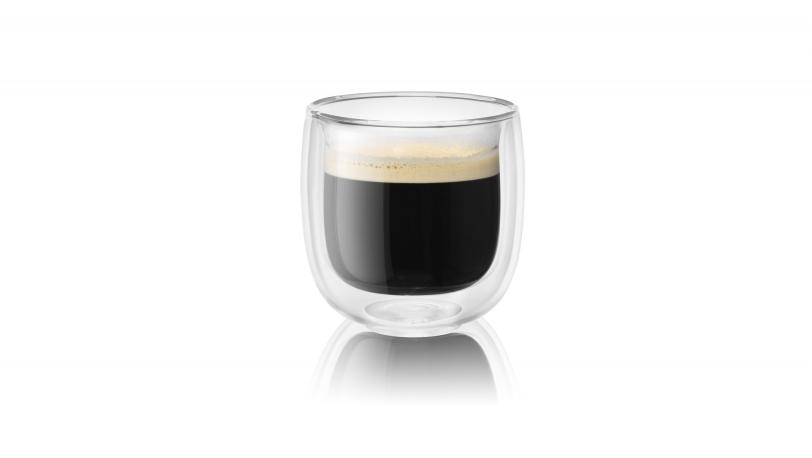 Sorrento 2-pc Double-Wall Glass Espresso Set