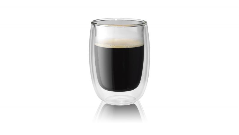 Sorrento 2-pc Double-Wall Glass Coffee Set