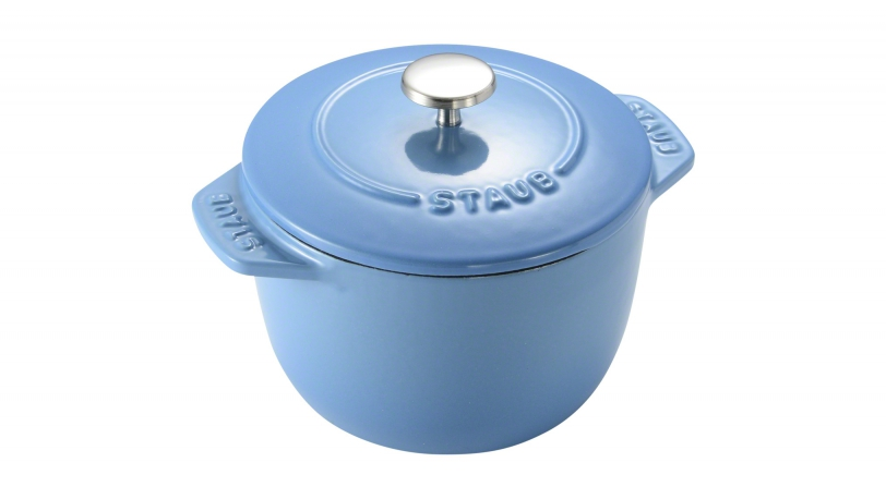Rice Cocotte 12cm Ice Blue | Special Cocottes | Staub 0