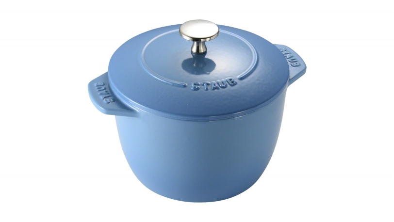 Rice Cocotte 16cm Ice Blue | Special Cocottes | Staub 0