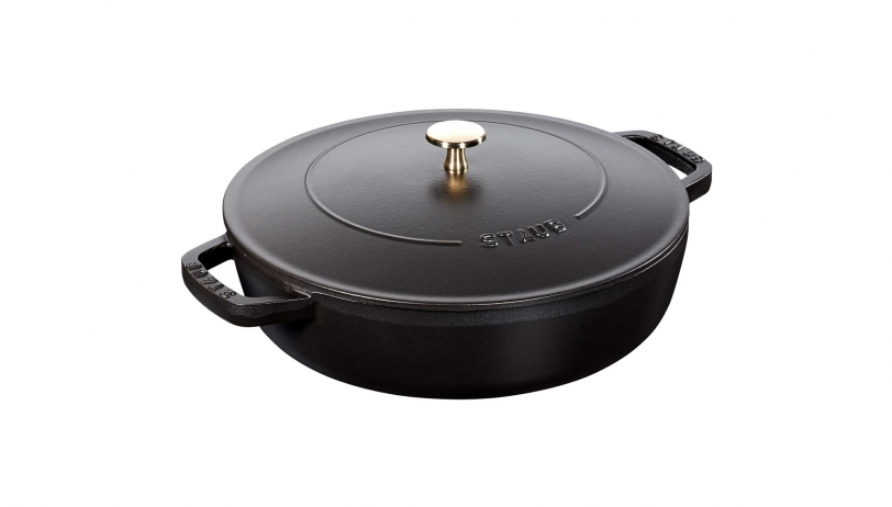 ブレイザーソテーパン 26cm ブラック (40506-542) | ブレイザー ソテーパン | ストウブ 0