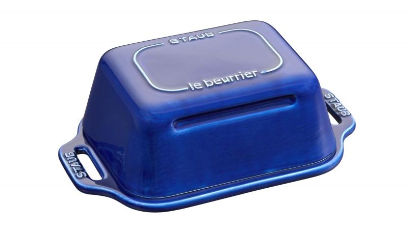 Butter Dish dark blue | Tableware | Staub 0