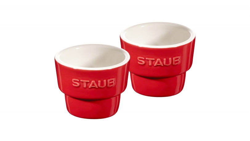 Set of 2 Egg Cups, Cherry | Tableware | STAUB 0