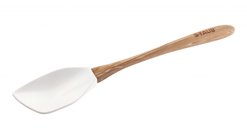 Olivewood Silicone Spoon Spatula | Kitchen Gadgets | Staub 0
