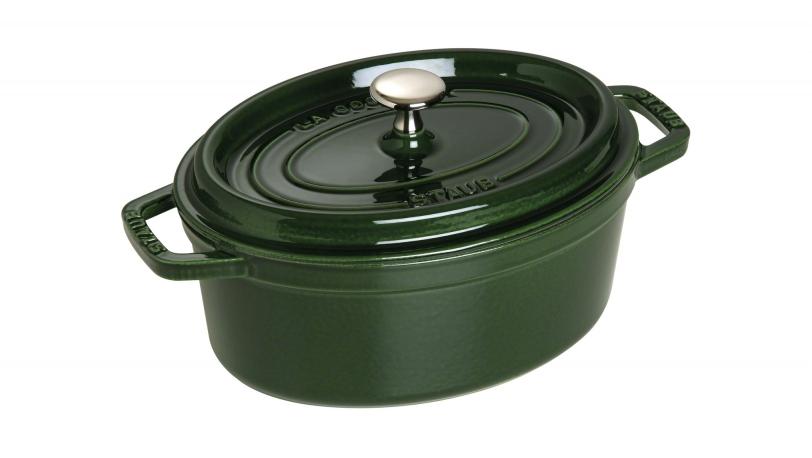オーバル 23cm バジルグリーン (40509-646) | ピコ・ココット | ストウブ 0