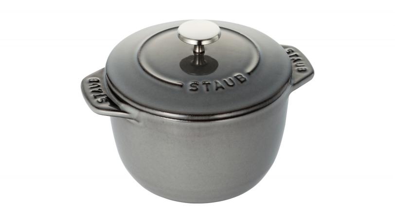 Rice Cocotte, Grey, 12cm | Cocottes | STAUB 0