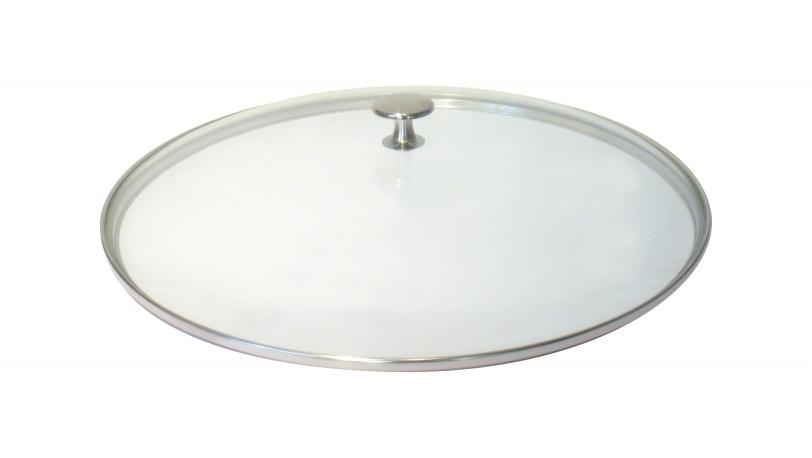 Glazen deksel, 37 cm