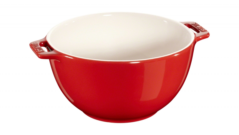 Skål 18 cm rød | Servering | Staub 0