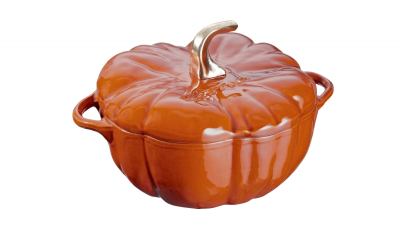 Pumpkin Cocotte - Burnt Orange
