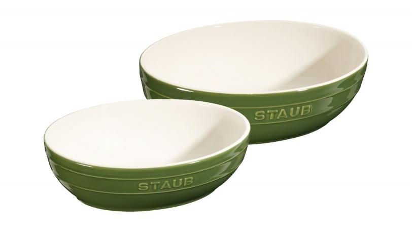 Ovalt skålsæt | Servering | Staub 0