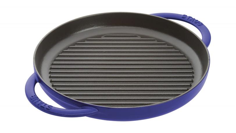 Grillpfanne, dunkelblau, 26 cm | Grillpfannen | STAUB 0