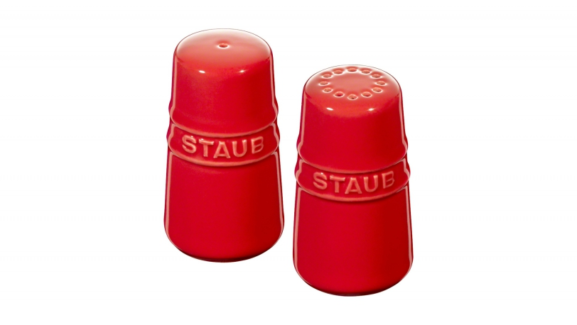 Salt and Pepper Shakers, Cherry | Tableware | STAUB 0