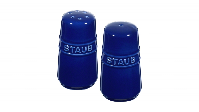 Salt and Pepper Shaker, Dark Blue | Tableware | Staub 0