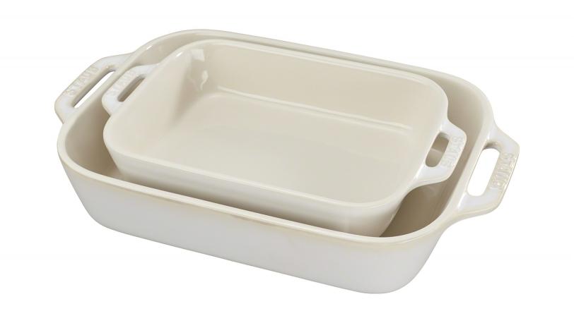 2-pc Rectangular Rustic Baking Dish Set