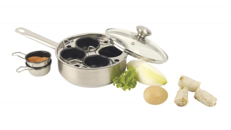 Gourmetpfanne mit 4 Schüssel | Backen und Braten | DEMEYERE 0