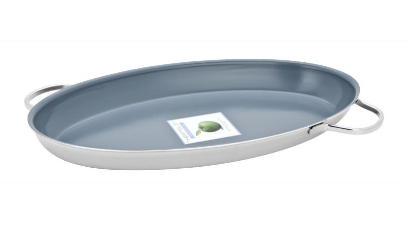fish pan with thermolon granite resto by demeyere demeyere 0 - Demeyere